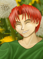 Dandelion Boy by ThePageOfCups