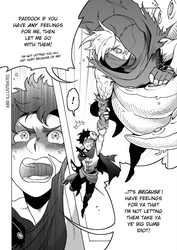 DnD doodle - High Hopes Low Rolls: Manga Scene by ABD-illustrates