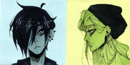 Bob and Luka by Glamist