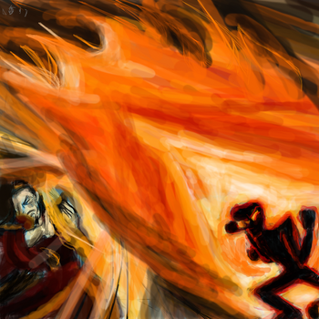 Fire Lord Ozai vs. Benedict/Father 2 by Fightlikeariver