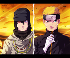 Naruto and Sasuke - The Last Movie by KhalilXPirates