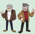 Stan and Ford 2018 by TurquoiseGirl35