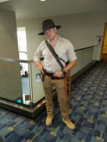 Indiana Jones Otakon 2017 by bumac