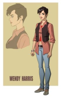 YOUNG JUSTICE: INVASION: WENDY HARRIS by Jerome-K-Moore