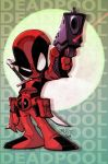 OC2 sketch 08 :: lil Deadpool by Red-J