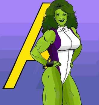 She Hulk By Manic by ManicArchives