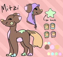 Mitzi redesign by CrocodileDandies
