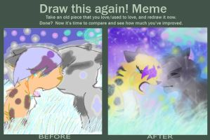 Before and After meme 2 by DaydreamDragon371