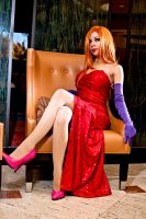 Anime Central 2012: Jessica Rabbit by MomoKurumi