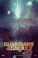 Guardians of the Galaxy | Poster by Squiddytron