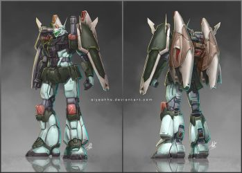 Commission: MBF-M1 M2S Astray Cannon by aiyeahhs