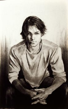 Quick study- Sam in charcoal by SurpassingSolitude