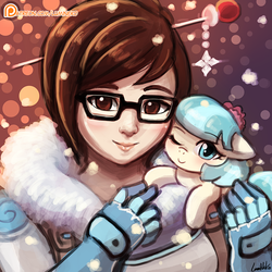 Mei and Coco by luminaura