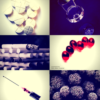 aesthetic #10: |drugs| by snowflake20006