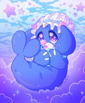 My Little Sea Lion Sits on a Cloud! by dhelmise