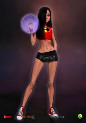 Violet Parr - Invisigirl On Her Own 02 by sodacan