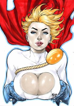 Power Girl by Fredbenes