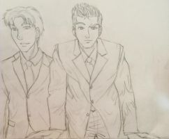 Bruce and Dick by sweetbean882013