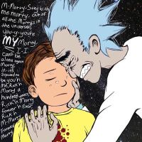 Rick 'n Morty Forever by ricknmorty4eva