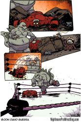 Nightmare Pro Wrestling Issue 5 Page 13 by JonDavidGuerra