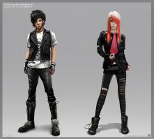 SUBCULTURES-EMO all2 o by Josic