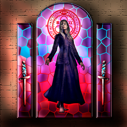 Saint Claudia of the Knife by Taimuko