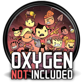 Oxygen Not Included Game Icon [512x512] by M-1618
