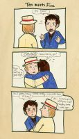 Ten Meets Five - Doctor Who by polvoice