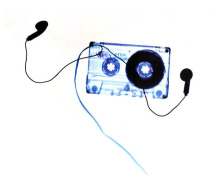 audio cassette by urbandecoy