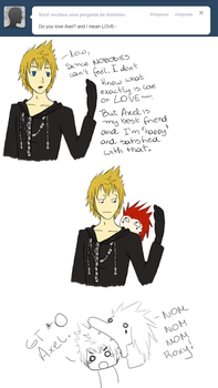 Ask Roxas 5 by MarquesD
