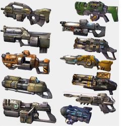 Unreal Tournament 2003 Weaponry by DANQUISH