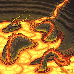Solpets: Lava Monster ReImagined by Chari-Artist