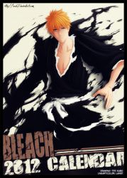 Bleach calendar 2012 - Ichigo by Law67