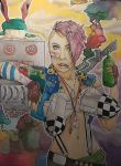 ComicBookGirl19 as Tank Girl by ToiFactory