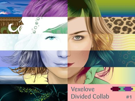 Divided Collab 1 by vexelove