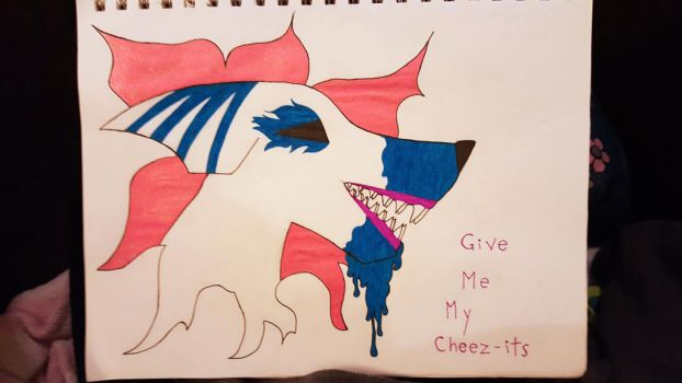 Don't touch my cheez-its by DontCallMeRoberta