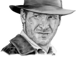 Indiana Jones by Shhburd