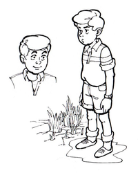 Young boy, inked by AlMearveck