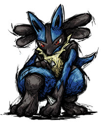 Smash Striker: Lucario by Tails1000