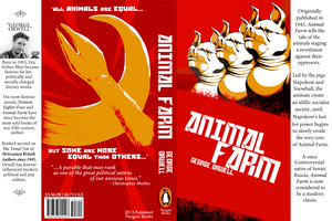 Book Jacket Design Project: Animal Farm by Dezfezable