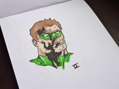 green lantern by bastienblanc