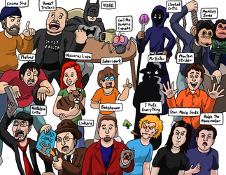 Reviewers And Ranters by kyrtuck