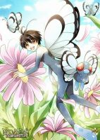 POKEMON: Butterfree 01 by BOMB4Y