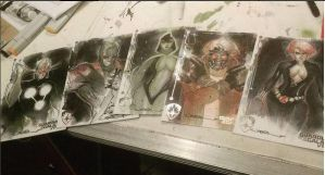 Guardians of the Galaxy 5x7s by ukosmith