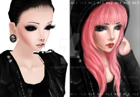 IMVU Before and After DP by Alzeh