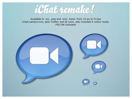 iChat Remake by emey87