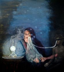 Poet and Ectoplasm by langosy