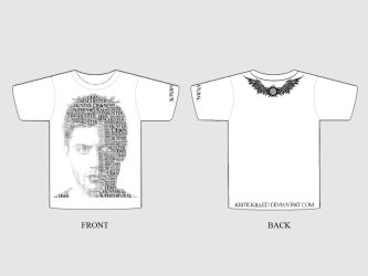 Dean Winchester Type Shirt - White by WendiJo129