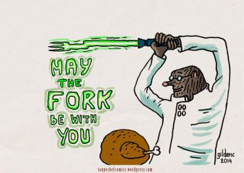 May the Fork Be With You ! by gilderic