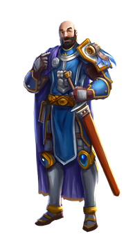 (COMMISSION) Sir Ronald by Hanonaut